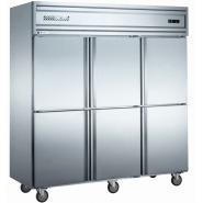 六封门双温冷冻冷藏柜