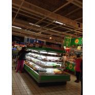 水果风幕柜 超市风幕柜 环岛bob官网登录 环岛风幕柜
