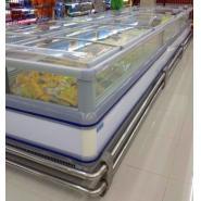 冷藏冷冻冰柜 超市冷冻岛柜 卧式商用bob官网登录 超市卧式岛柜