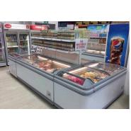 冷藏冷冻冰柜,超市冷冻岛柜,超市岛柜