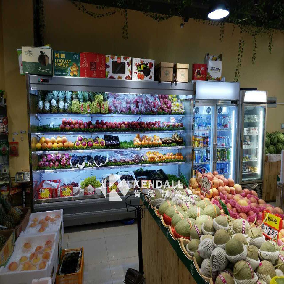 饮料超市风幕柜性能与特点